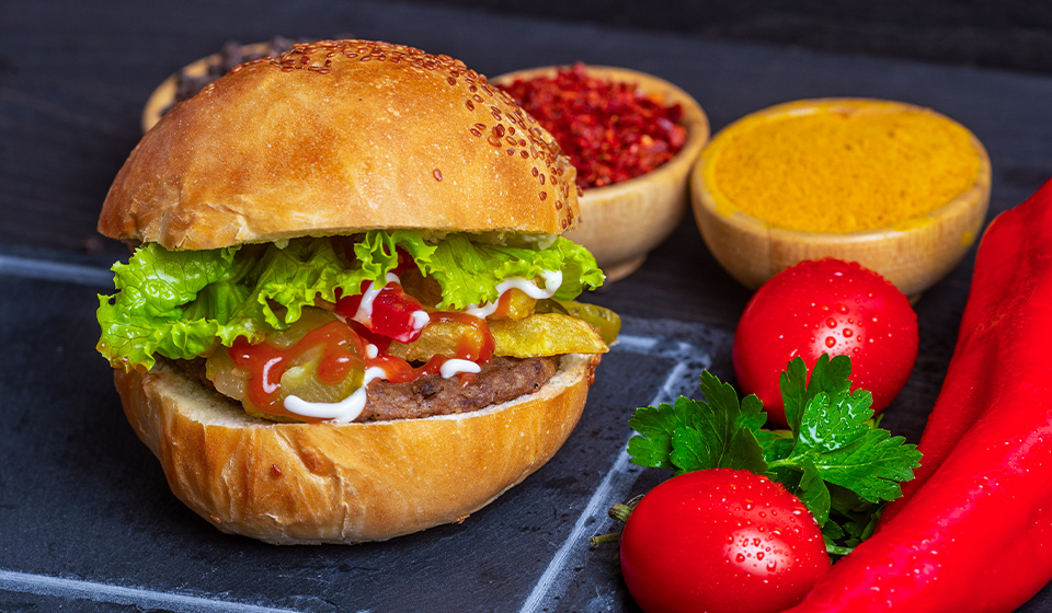 Dana Hamburger - Burger Ekmeği