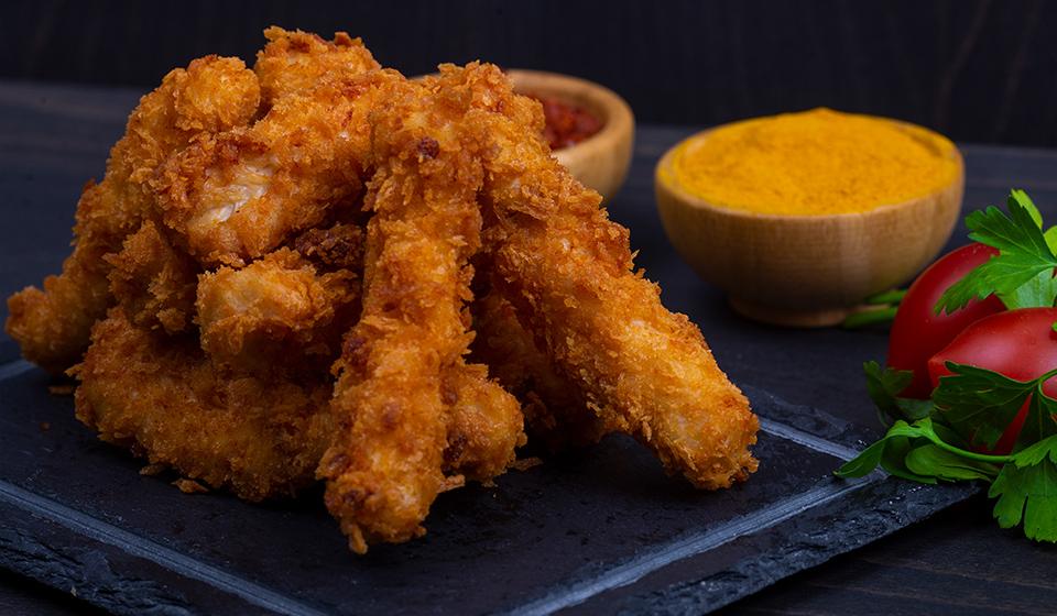 Kızarmış Tavuk Parçası - 10 Adet
