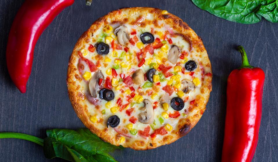 Karışık Pizza - Orta Boy 22 CM