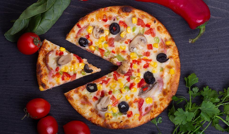 Karışık Pizza - Büyük Boy 24 CM