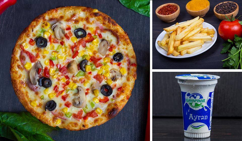 Kıyak Eko Pizza Menü