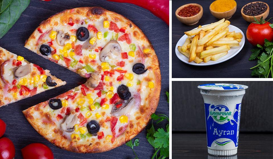 Kıyak Big Pizza Menü
